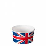 TYPE 102 160ml Ice Cream Cup - Union Jack